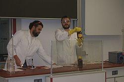 Chemievorführung im Gymnasium